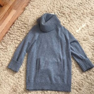 Gap oversized cowl neck long sweater
